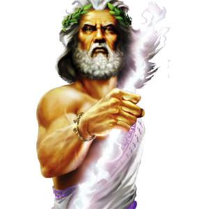 Zeus - Greek God of power and thunder