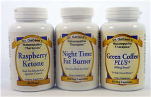 a photo of the Triple Threat Trio - Raspberry Ketone, Night Time Fat Burner, and Green Coffee PLUS+